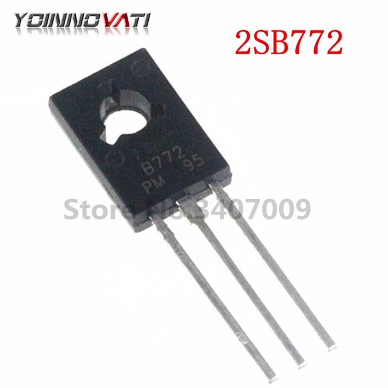 10 PCS 2SB772 TO-126  B772P B772 PNP Power Transistor