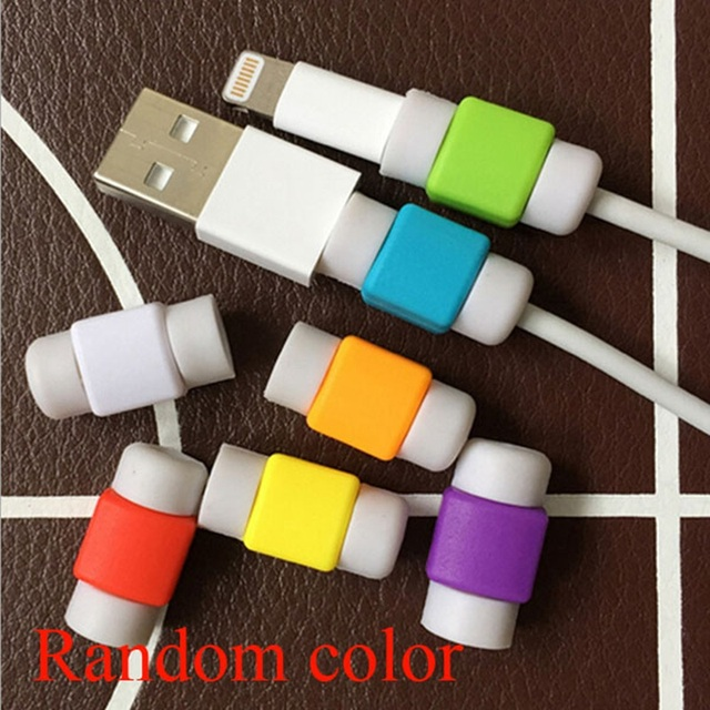 2-Piece USB Charger Cable Protector