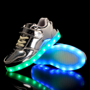 Image 5 - Size 25 37 Children Glowing Sneakers with Light Led Shoes Kids Luminous Sneakers for Boys Girls Sneakers with Luminous Sole