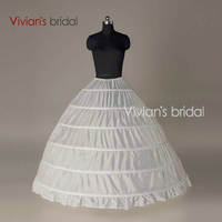 Crinoline 5 Hoop Petticoat For Ball Gown Dress Wedding Accessories Wedding Dresses Underskirt