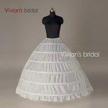 Crinoline 6 Hoop Petticoat For Ball Gown Dress Wedding Accessories Wedding Dresses Underskirt