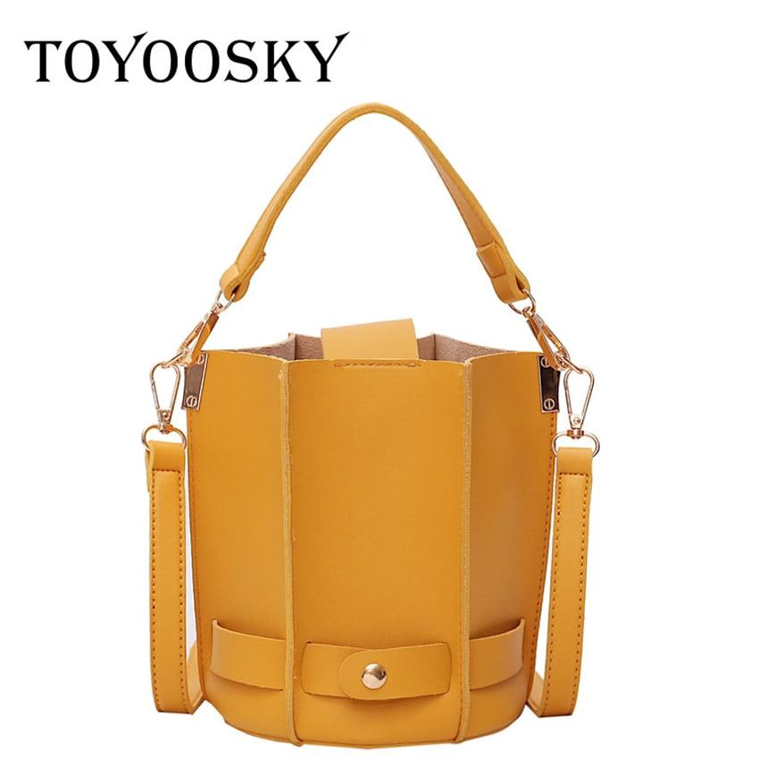 ec9a7b6d737 TOYOOSKY Vintage Women Bucket Bags Designer Luxury Women Shoulder Bags  Female Top-handle Sac a Main ...