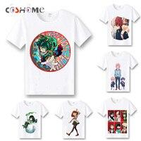 Coshome My Hero Academia T Shirts Cosplay Costumes Boku No Hero Academia T Shirts Izuku Midoriya