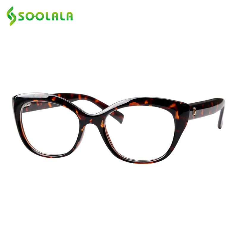 SOOLALA Spring Hinged Reading Glasses Women Men Big Vision Clear Lens Glasses For Readers Reading Eyewear +0.5 To 4.0