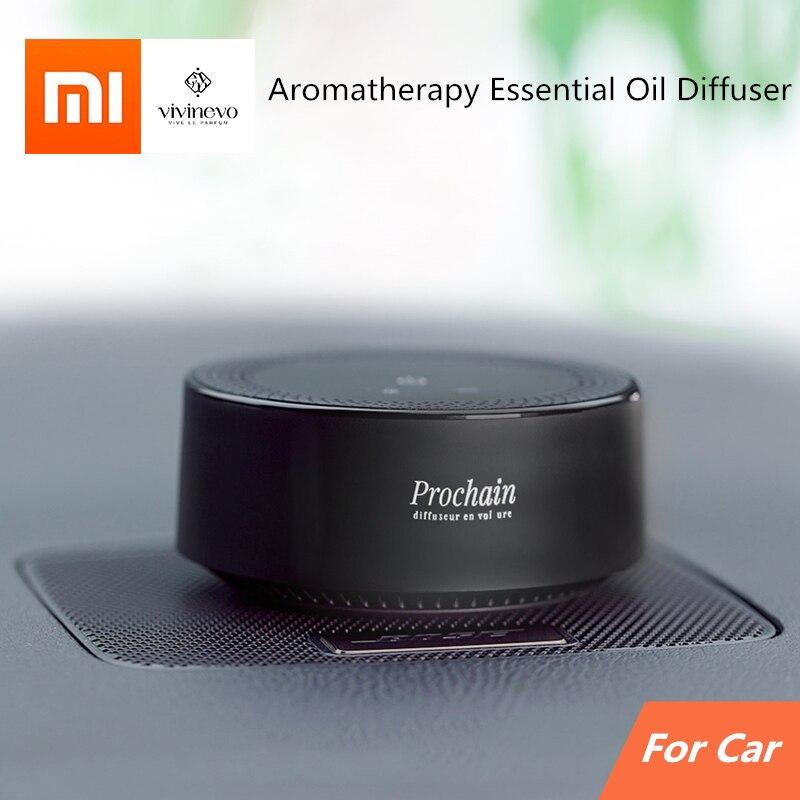 Xiaomi Vivinevo Auto Aroma Diffuser Mini Air Purifier Aromatherapy Essential Oil Diffuser For Car