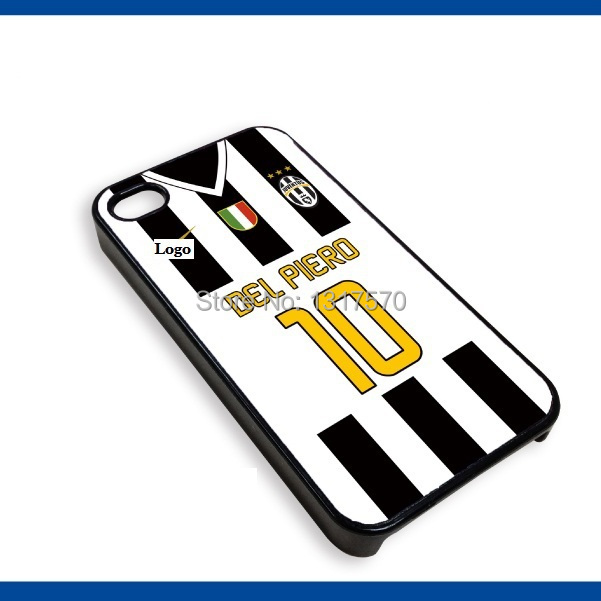 new style 781cf 7495c US $10.68 |Juventus Plastic Cellphone Cover Case with the patterns of Home  Jersey DEL PIERO 14 15 season for Apple iPhone 4S 5S 5C 6 plus on ...