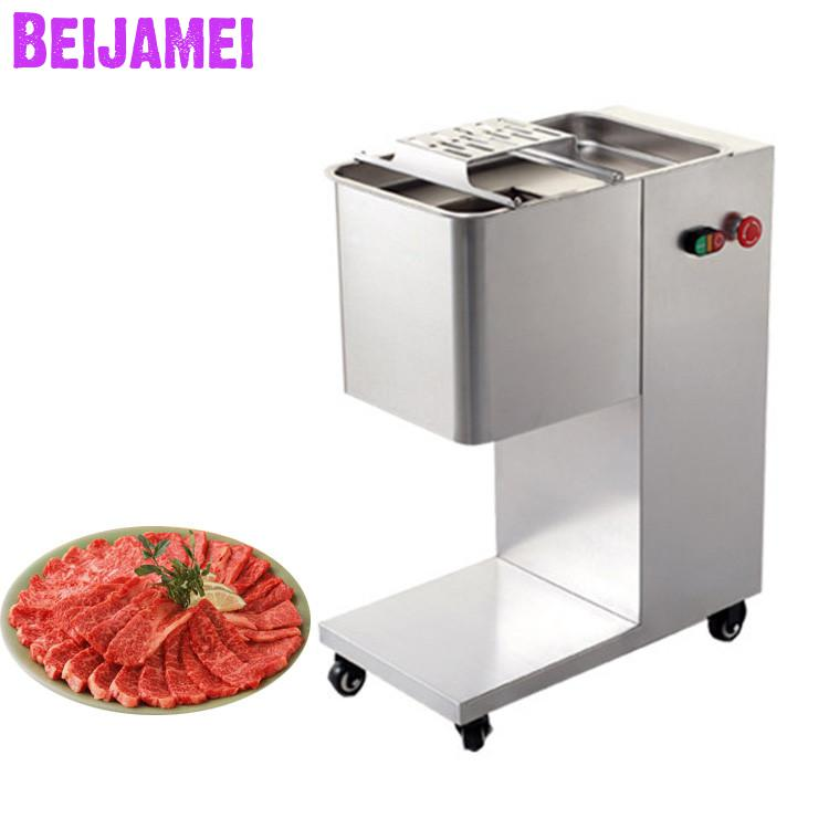BEIJAMEI 500KG Electric Meat Slicer Automatic Meat Cutting Machine Commercial Meat Grinders For Restaurant