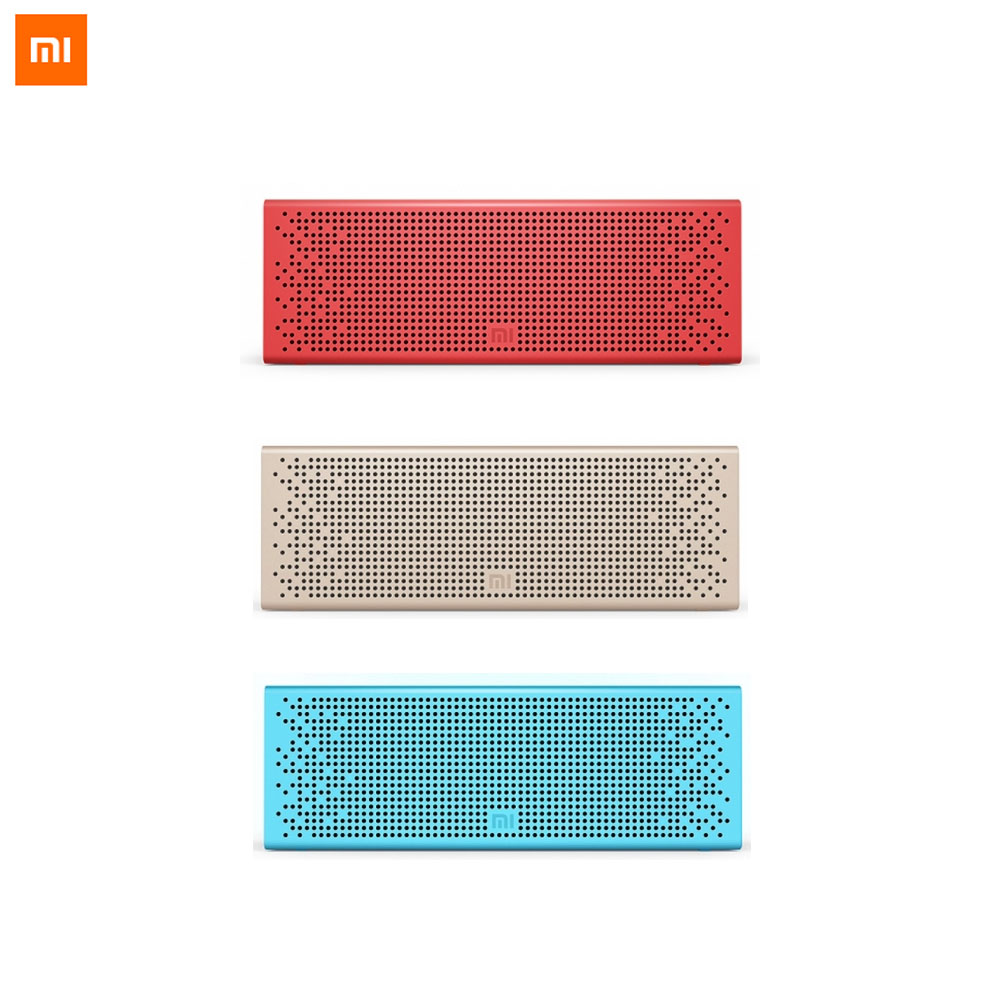 Original Xiaomi Mi Bluetooth Speaker Wireless Stereo Portable MP3 Player Audio Handsfree Microphone Support For Smart Phones original xiaomi mi bluetooth speaker metal square box mini wireless stereo portable mp3 player handsfree bluetooth 4 0