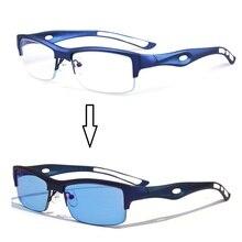 Vazrobe Qualität Photochromen Sonnenbrille Männer Polarisierte Harz Objektiv Sport TR90 Brillengestell Chameleon Sunglass für Fahren Männlich