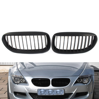 Front Grille Grill for BMW 6 Series E63 E64 LCI M6 650i 645CI Matte Black coupe Convertible 2Door