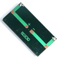 Tấm Pin Năng Lượng Mặt Trời Mini 0.2W 1.5V 60X30 Mm Công Suất Hệ Thống Bảng Điều Khiển Tự Làm Cell Pin Sạc Mô Đun Di Động panneau Solaire Năng Lượng Tàu, 5P
