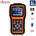 Foxwell NT415 EPB/ABS/SRS+CAN OBDII Diagnostic Scan Tool Turn off Check Engine Light Clears Codes Resets Monitors