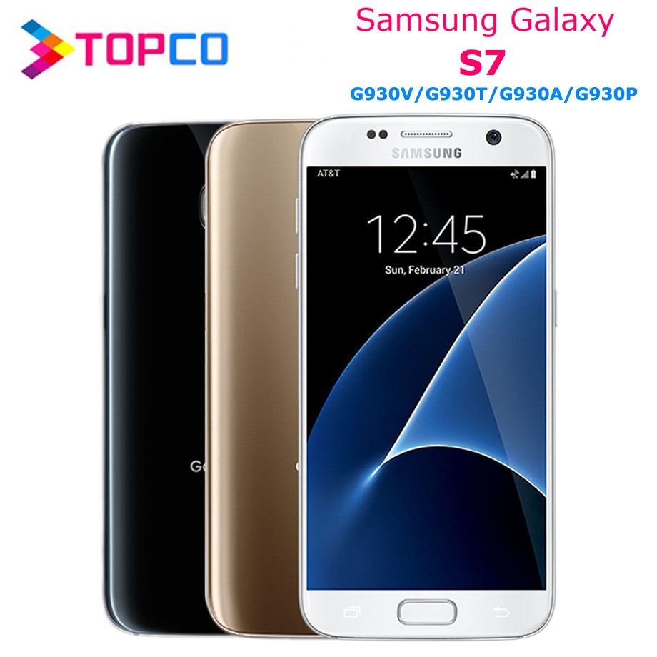 Samsung Galaxy S7 Duos G930FD Original Unlocked 4G LTE Android Mobile Phone  Exynos Octa Core Dual SIM 5 1