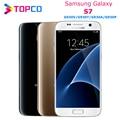 Оригинальный разблокированный Samsung Galaxy S7, G930T, G930V, G930A, G930P, 4G, LTE, GSM, Android, мобильный телефон, четырехъядерный, 5,1 дюйма, 12 МП, 4 Гб ОЗУ, 32 Гб ПЗУ