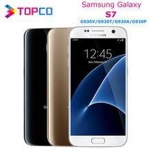 Samsung Galaxy S7 G930T G930V G930A G930P Original desbloqueado 4G LTE Android Teléfono móvil GSM Quad Core 5,1