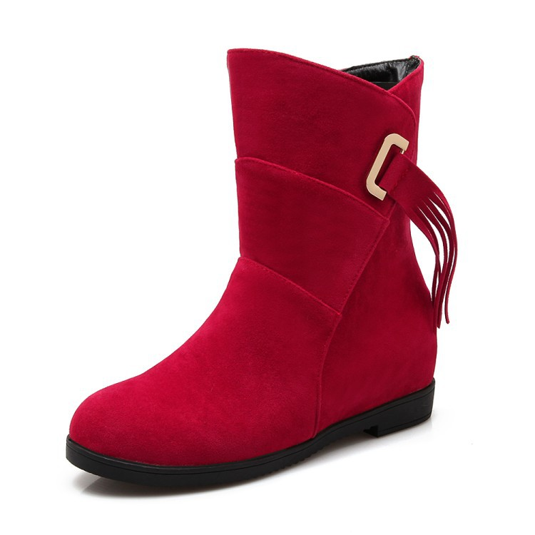 Wedge Ankle Boots Cheap Promotion-Shop for Promotional Wedge Ankle ...