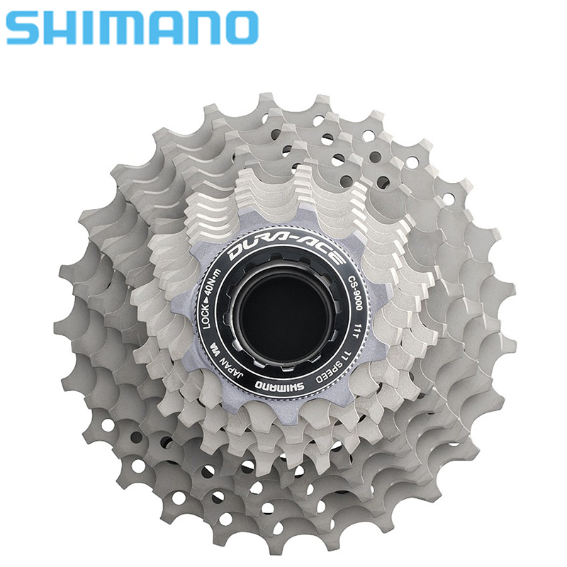 Shimano Dura-Ace CS-9000 11S Speed Cassette Free Wheel Bicycle Derailleur System Road Bike Accessory road bike chain ring bicycle flywheel cassette tool parts 11speed 105 ultegra dura ace for 1x and 2x drivetrain systems