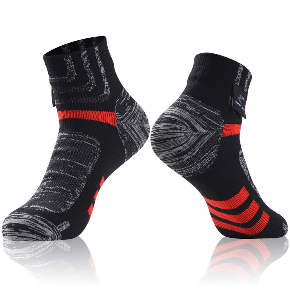 Image 2 - RANDY SUN Ankle Waterproof Sports Socks Breathable Windproof SGS Certified Outdoor Hiking Climbing Fishing Cycling Socks 1 PairCycling Socks   -