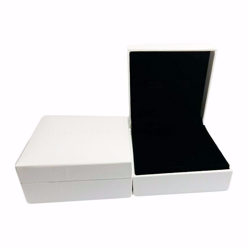 Black Bracelet Box 1pc/lot 9*9*4cm Compatible With Pandora Jewelry Velvet DIY Boxes Jewelry Display Cases Box Free Shipping Whit
