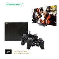 2018 HD видео игровая консоль 64 бит Поддержка 4 К к Hdmi выход Ретро 800 классический семейный Ретро видео игры к ТВ с 32 г TF карта X PRO