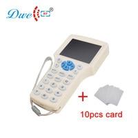 DWE CC RF access control card cloner 125khz and 13.56mhz rfid card copier for rfid card clone