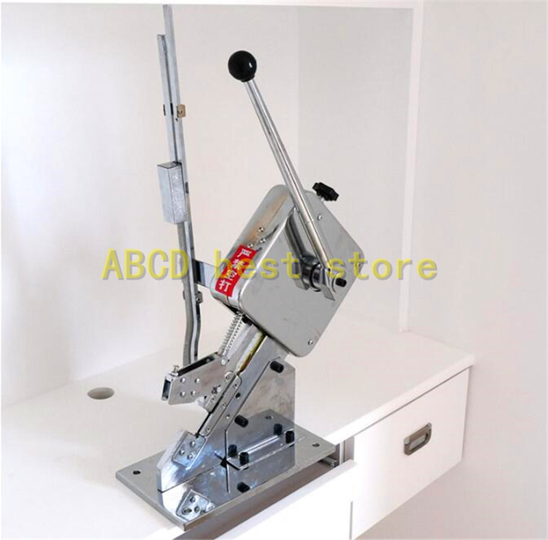 18 Free ship to your home Gold supplier U-shape hand sausage clipping machine manual sausage clipper machine for sausage casing sausage making equipment u shape sausage clipping machine manual sausage clipper machine price