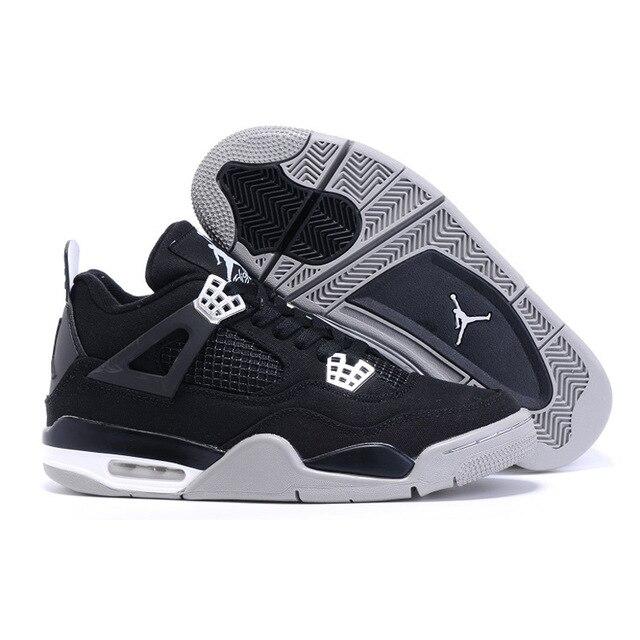 33562343c6e JORDAN 4 Man Basketball Shoes Motorsport Raptor Black Red Toro oreo  Athletic Sport Sneakers Pure White New Arrival