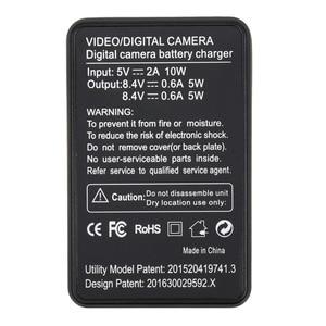Image 4 - NP FW50 cargador de batería Digital NPFW50 pantalla LCD, cargador de doble canal para sony a7II a6000 a7RII a6300 a5100 a7s a7 a7R a7sII