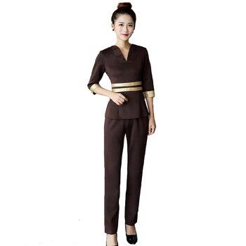 25dc60f9bf20e SET Women S Short Sleeve Fashion Scrubs Suit Medical Nursing ...