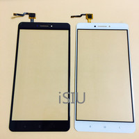 ISIU Replace For Xiaomi Mi Max 2 Touch Screen Max2 Mobile Phone Touch Panel Front Glass