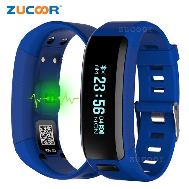 8c93ba3cec67 Inteligente Health Monitor de Ritmo Cardíaco Reloj de Pulsera Banda  Original ZB86 Dispositivo Portátil A Prueba