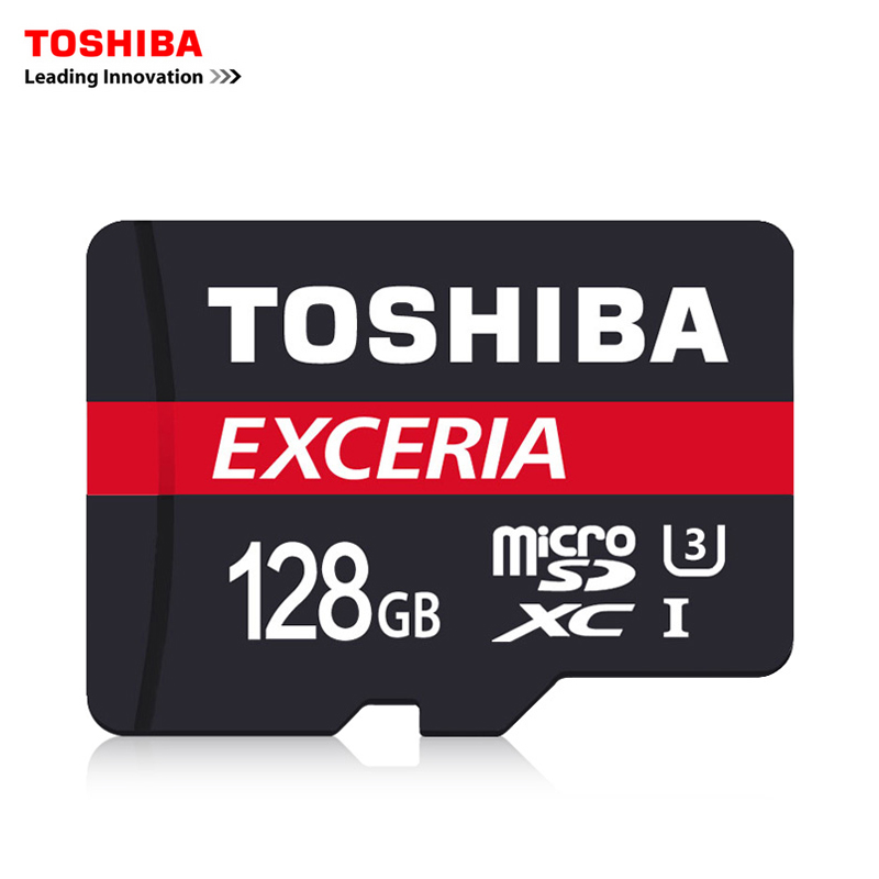 Toshiba Memory Card Micro SD Card 128GB Class10 UHS-1 SDXC Flash Memory Microsd for Smartphone/Table  90M/s free shipping samsung microsd card 16gb 32gb 64gb 128gb 100mb s micro sd memory card tf flash card for phone class10 u3 sdhc sdxc free adapter