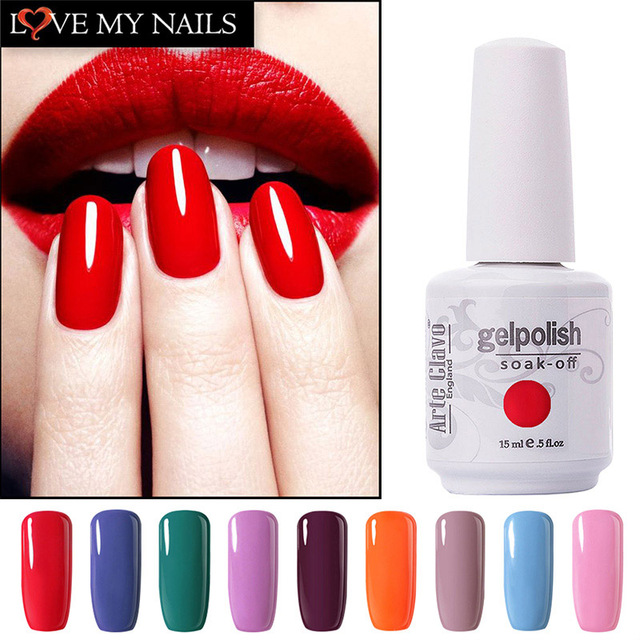 On Sale Luxury Lacquer Arte Clavo Any Color Gel Nail Polish Manicure ...