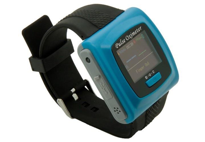 Oxímetro de pulso portátil, oxímetro de pulso Punta del dedo muñeca con alarma SPO2 PR, oxímetro de dedo para niños y adultos CMS50F - 6