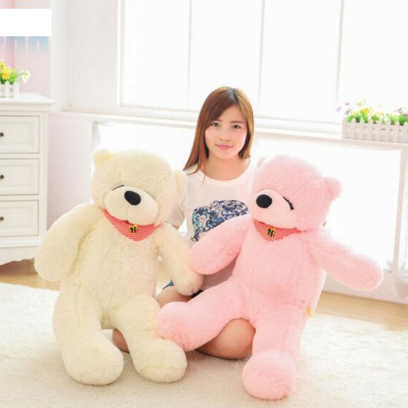 160cm Kawaii Giant Teddy Bear Soft Plush Toys Life Teddy Bear Stuffed Toys Children Gift soft Plush Toys For Valentine Gift недорого