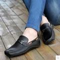 Мужчины Обувь Из Натуральной Кожи Мокасины Поскользнуться На Fashion Повседневная Обувь для Вождения Мокасины Квартиры Sapatos Masculinos Социальная Zapatos Hombre
