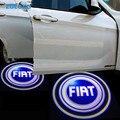 Puerta de coche del Led Luz de Insignia Para Fiat punto 500 Bravo Stilo Ducato Doblo Panda Grande Punto 2 Uno Palio Linea Brava Marea 500L Albea