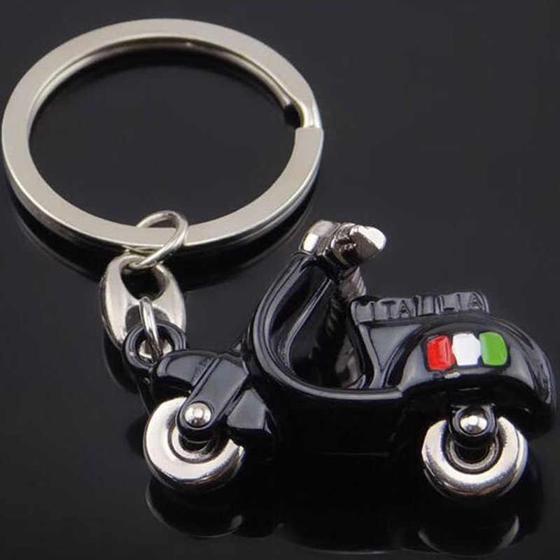 3D Motorcycle Car Key Ring chain for APRILIA PIAGGIO KTM Kawasaki Ducati  Suzuki Yamaha Harley Honda bmw Vespa Keychain Keyring