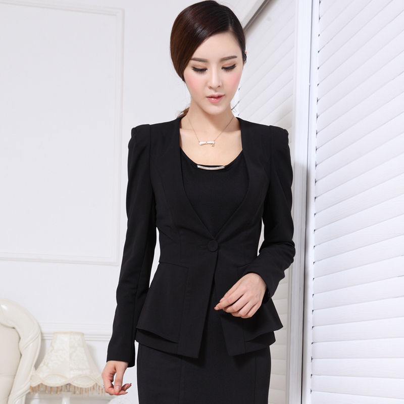 Formal Ladies Blazer Women Jackets Winter Fashion