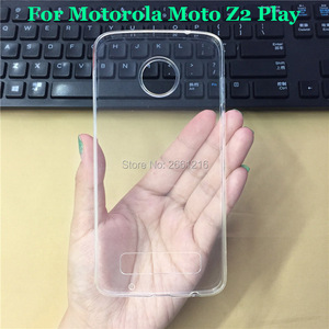 Для Motorola Moto Z2 играть ультра тонкий мягкий ТПУ Камера защиты кремния гель прозрачный чехол задняя крышка для Motorola Moto z2 Play