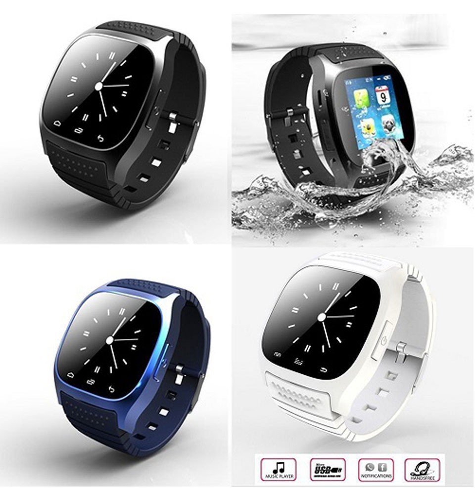 Smart Watch M26 Sport Bluetooth Smart Watch Luxury Wristwatch With Dial Sms Remind Pedometer For Samsung Lg Htc Ios Android Lover's Watches