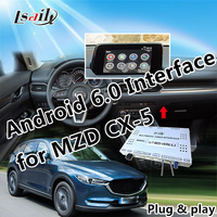 Plug&Play GPS Android Navigation for Mazda CX 5 with Google Play APP Mirrorlink WIFI Online Navigation etc.