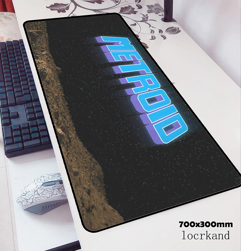 Metroid Mousepad 700x300x3mm Present Computer Mouse Mat Gamer Gamepad Pc Customized Gaming Mousemat Desk Pad Office Padmouse