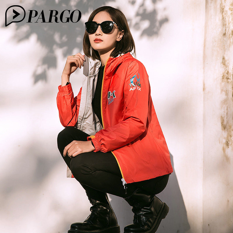 где купить PARGO Hiking gore-tex Jacket Women Waterproof Breathable Spring Adjustable Cuffs Climbing Clothes Single Layer Windbreaker W9070 по лучшей цене