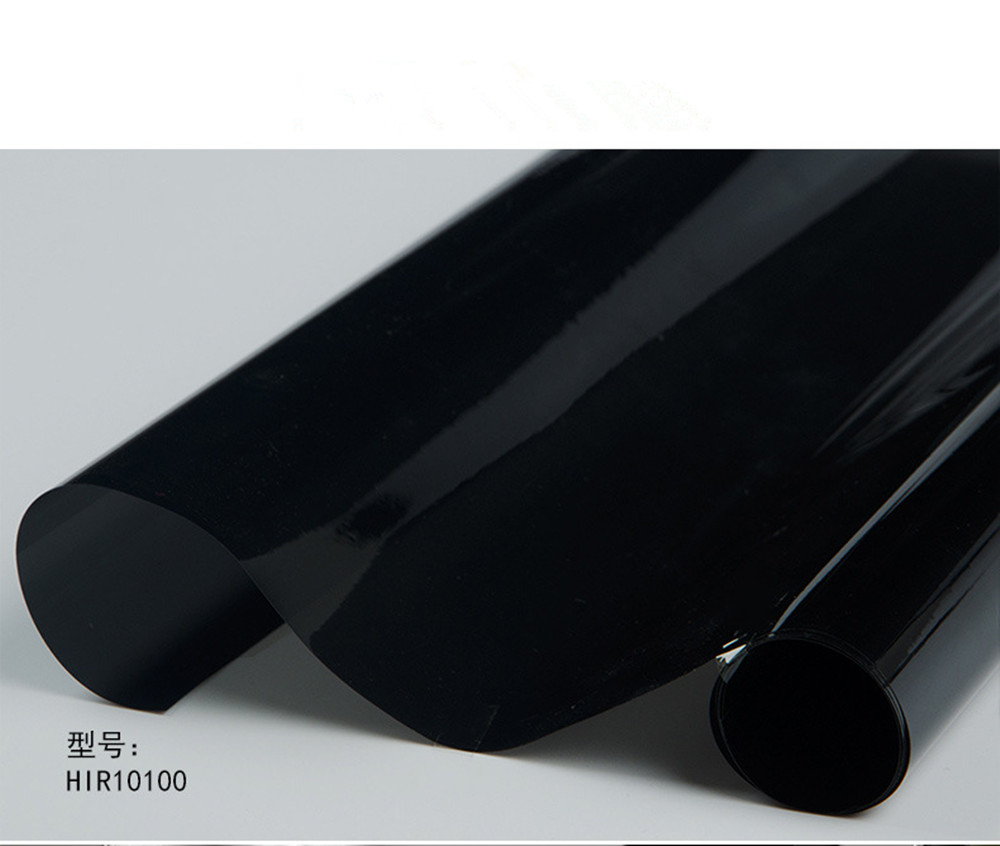 1.52 m x 5 m 10% VLT Bureau Maison De Voiture Fenêtre Teinte VLT Film 99% Anti UV Preuve Noir IR Réduction 99% Vente Chaude - 4