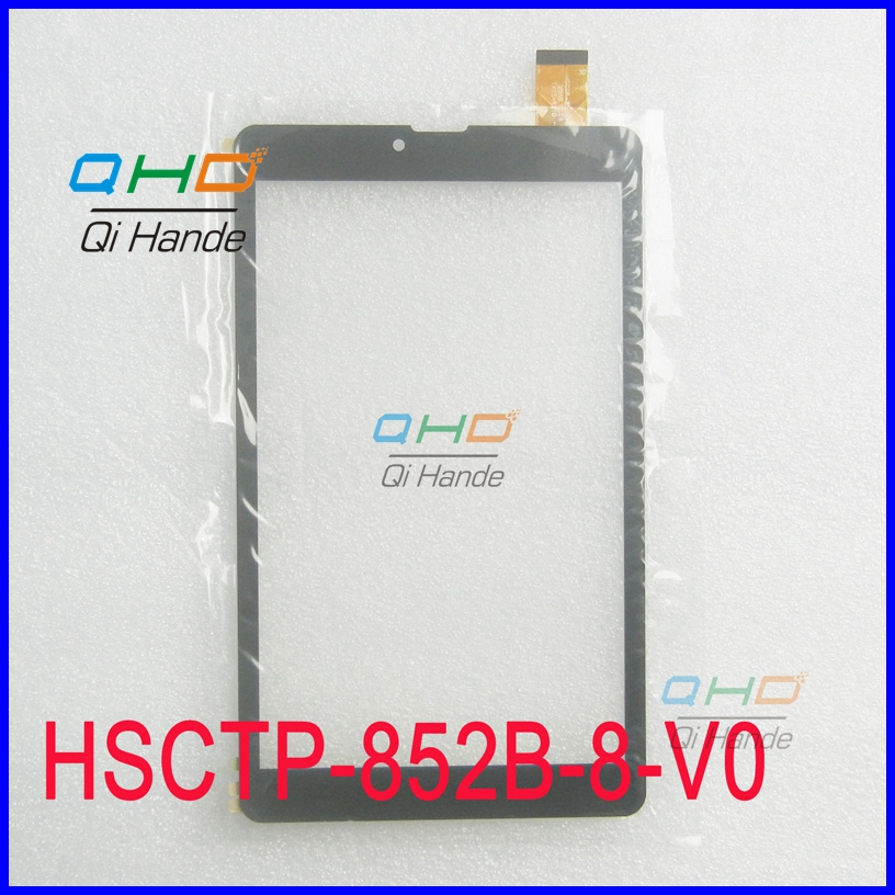 New for 8 inch Tablet PC HSCTP-852B-8-V0 Capacitive Touch screen panel Digitizer Sensor Replacement Free Shipping