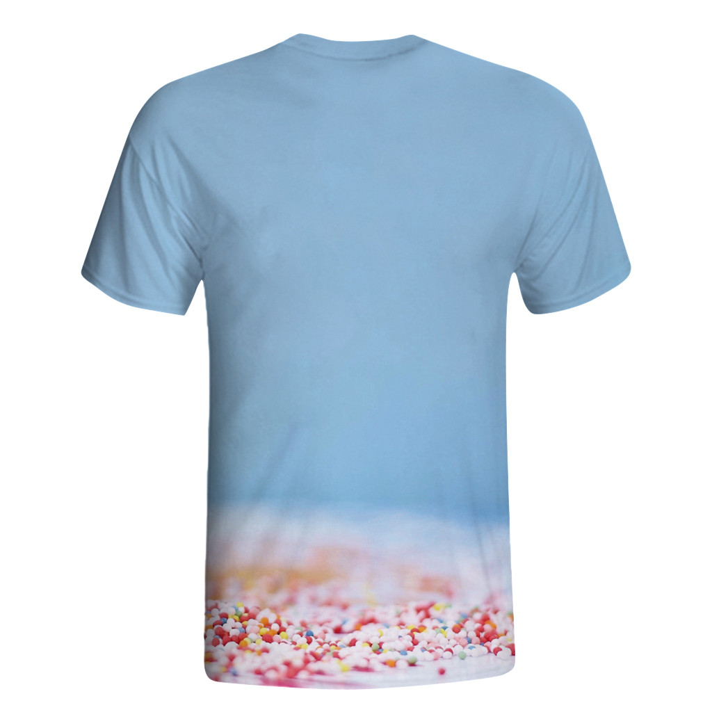 T shirt Men 39 s Casual Funny 3D Flower bulb Printing Fitness Elastic Short Sleeve O neck Top Blouse tee shirt homme de marque in T Shirts from Men 39 s Clothing
