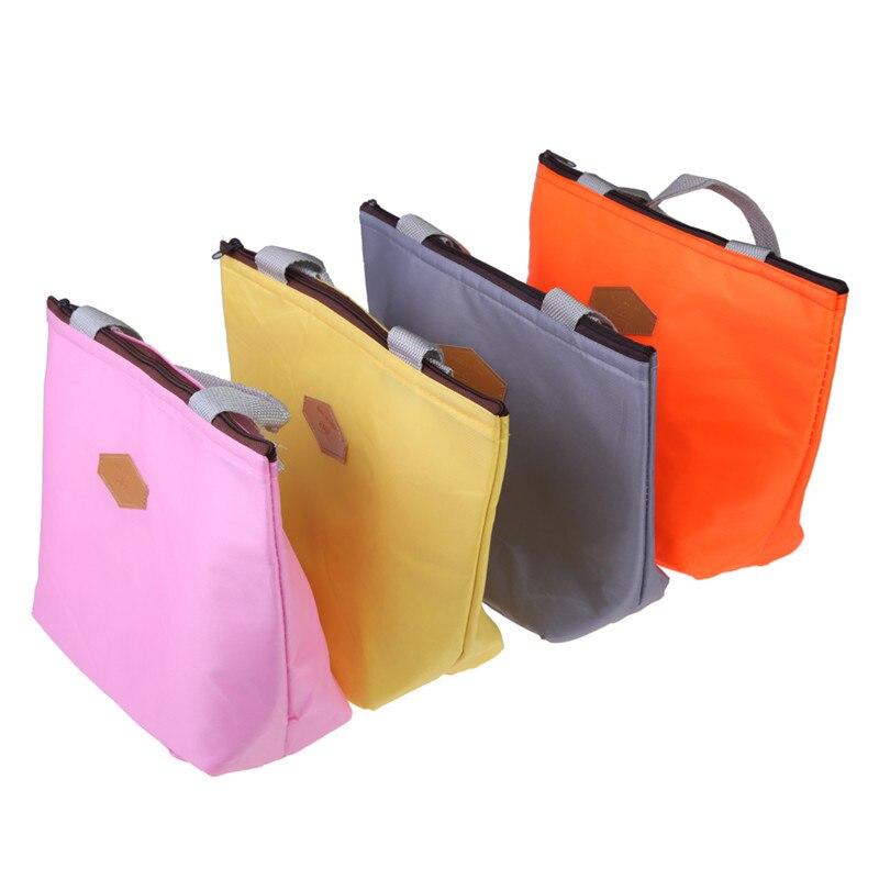 com zíper bolsa de viagem Tipo : Lunch Box Bag