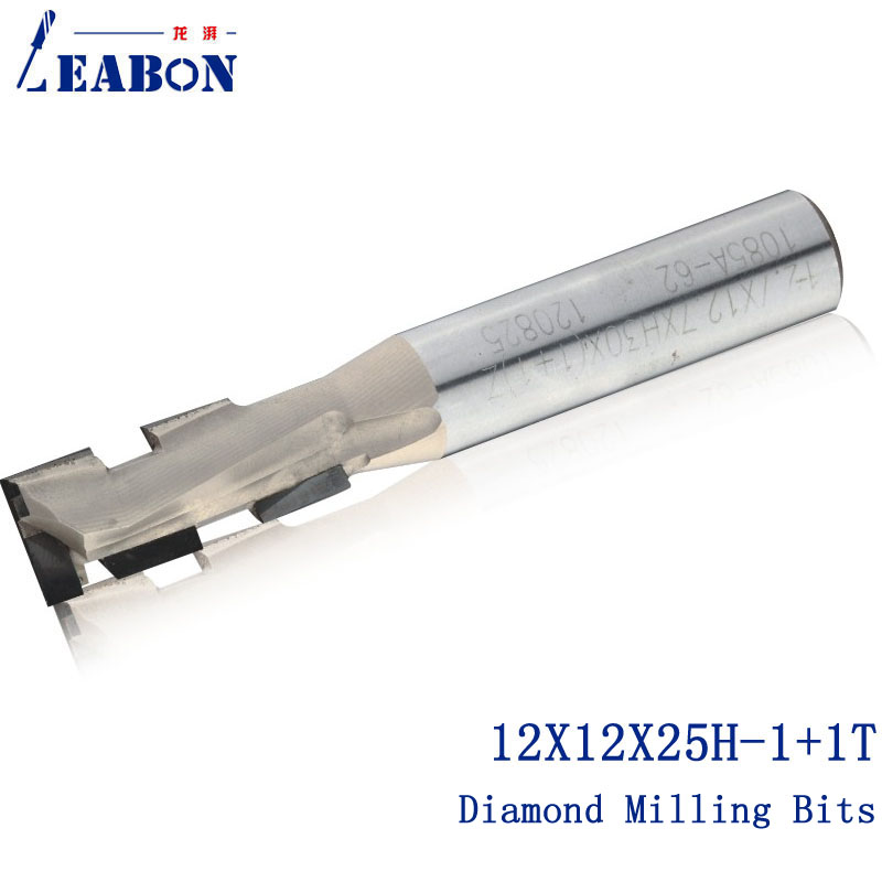 12*12*25H-1+1T Diamond two flute spiral CNC router bits/ Milling cutter / woodworking bits/cutter/end mill, for MDF,Plywood туннель игровой belon пи 004 т2 м2