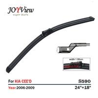S590 Wipers Size 24 18 Fit For KIA CEE D KIA CEED 2006 2009 Wiper Blade